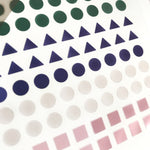 Suatelier Stickers - Geometric Plain IV