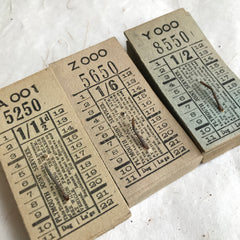 Plymouth Joint Service Vintage Tickets Pack (50pcs)