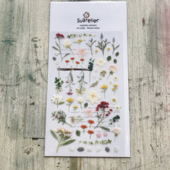 Suatelier Stickers - Flower letter