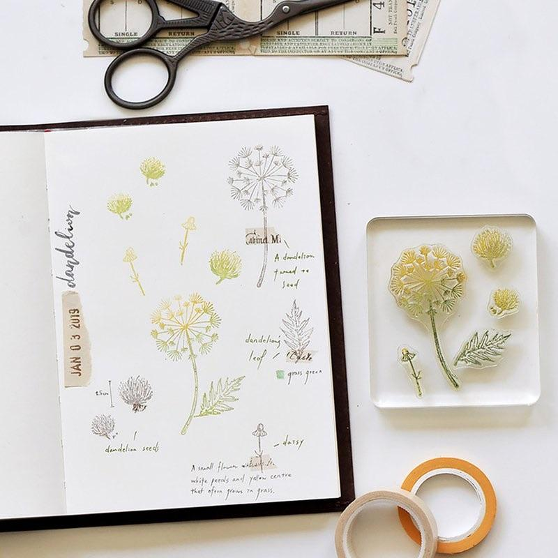 MU Botanical Clear Stamp Set - No. 07