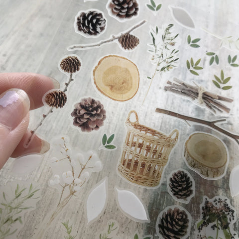 Suatelier Stickers - Autumn garden