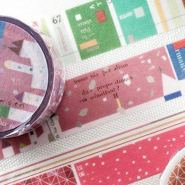 Chamil Garden 18-19 Winter Special Washi Tapes