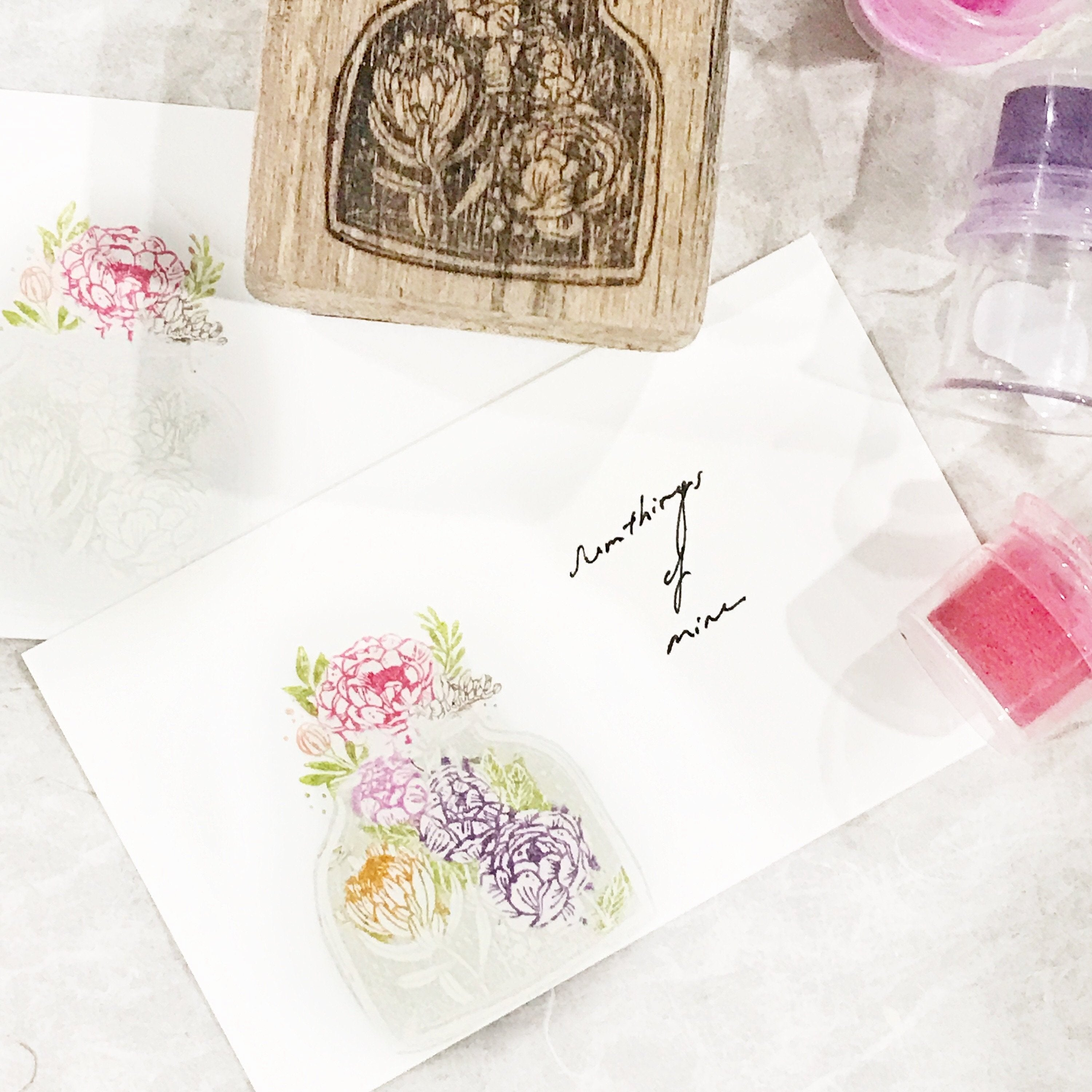 Black Milk Project Rubber Stamp - Bottled Dream Series