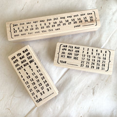 [Open for Pre-order] CatslifePress Rubber Stamp - Date Series