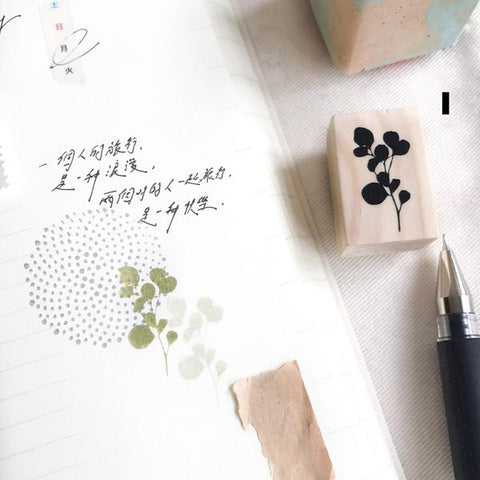 Botanical Rubber Stamps Collection II