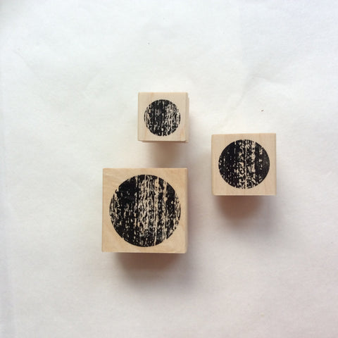 CatslifePress Rubber Stamp - Weathered Dot Series