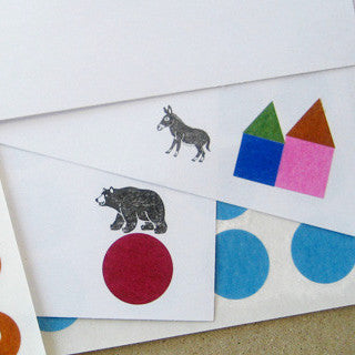 [Discontinued] Classiky Geometric Silk Paper Seals