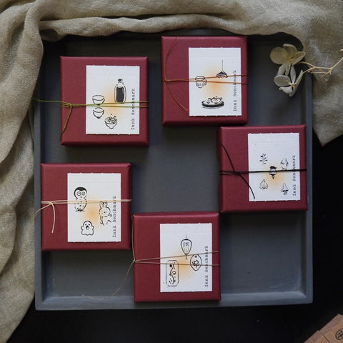 The Little Rubber Stamp Set