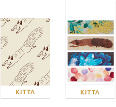 KITTA x juno embroidery Washi Tape Stickers