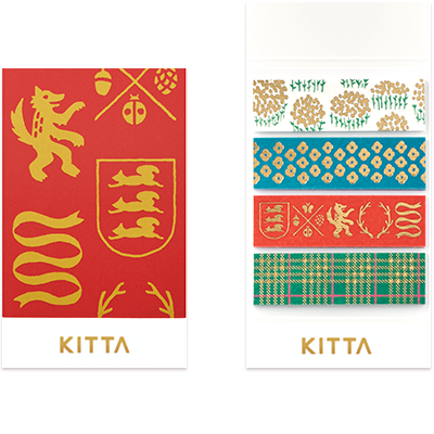 KITTA Washi Tape Stickers - KITH002 British