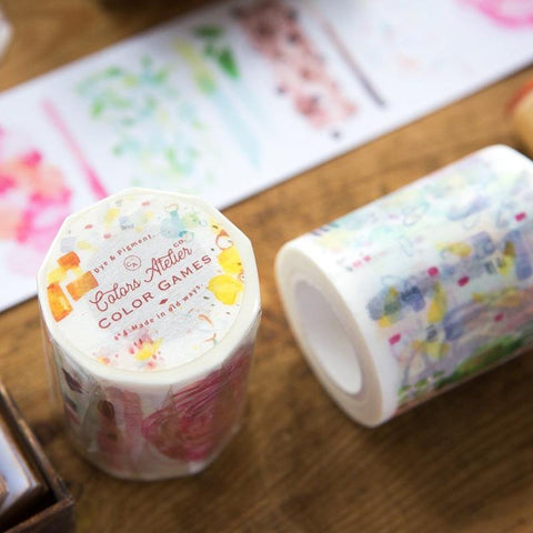 OURS Colour Games Washi Tape