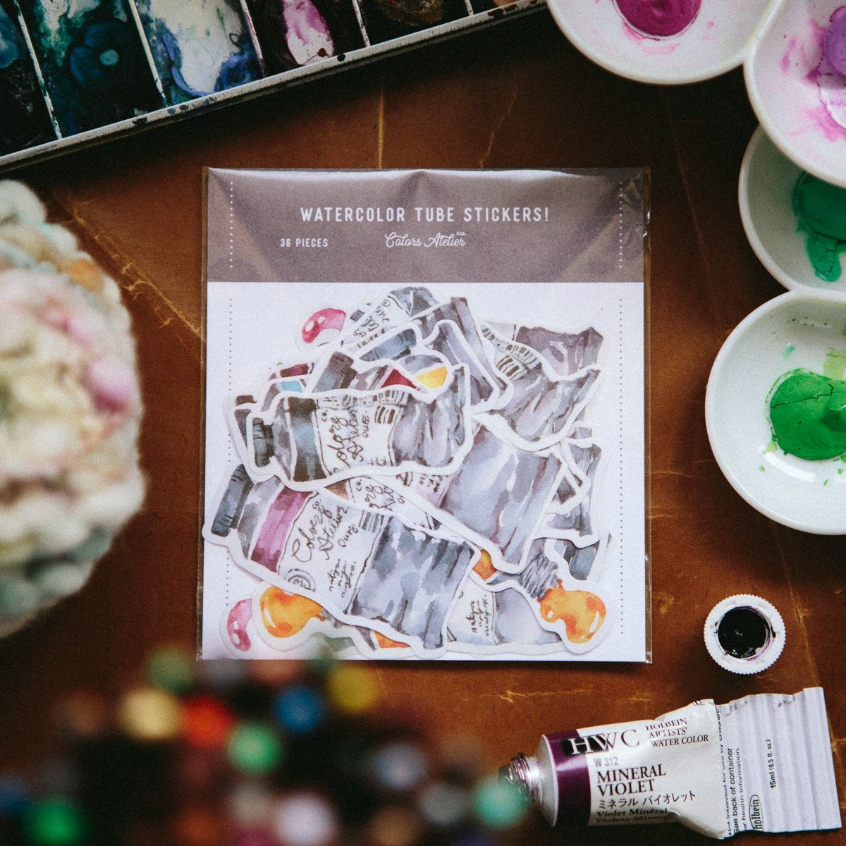 OURS Watercolour Sticker Flakes