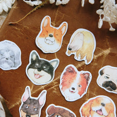 OURS Dog Sticker Flakes