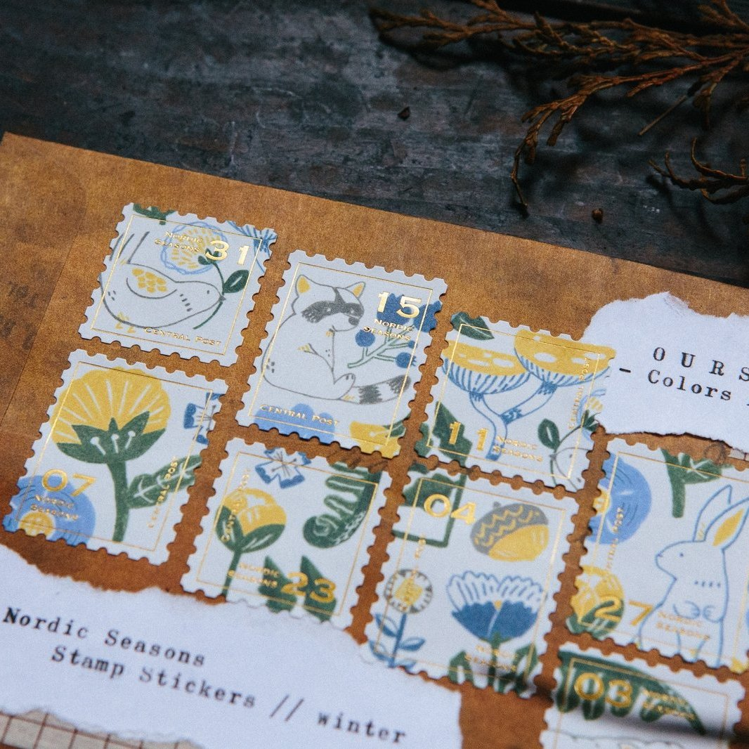 OURS Nordic Season Postage Sticker