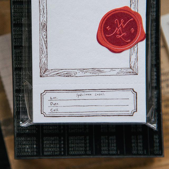 OURS Letterpress Label Book