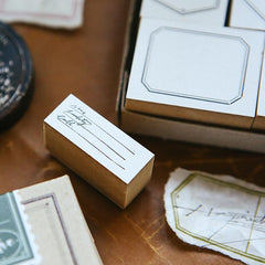 OURS Specimen Rubber Stamp Set