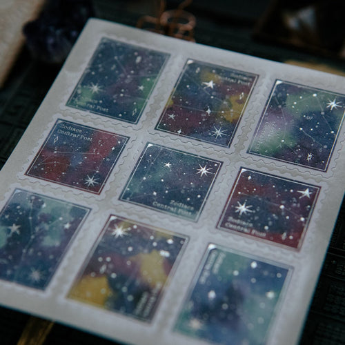 OURS Central Post Postage Stickers - Zodiacs