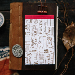 OURS Letterpress Label Book II