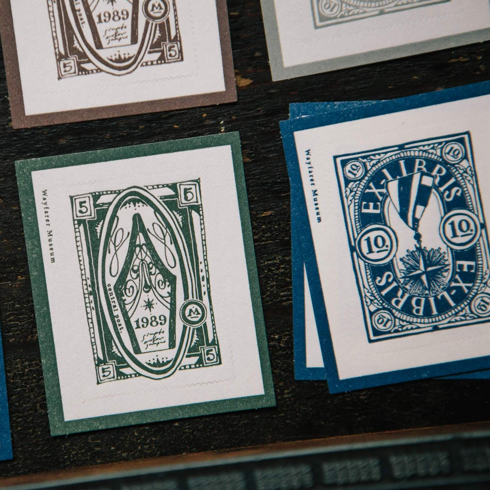 OURS Letterpress Postage Stamps
