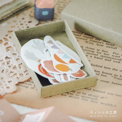 Jeju Island Sticker Flakes