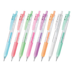 Sarasa Push Clip Gel Pen (0.5mm) - Pastel Series