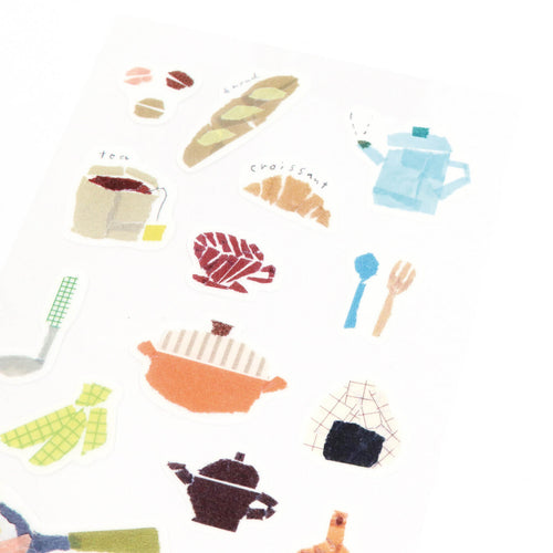 [My Favorite] Washi Sticker - Kitchen