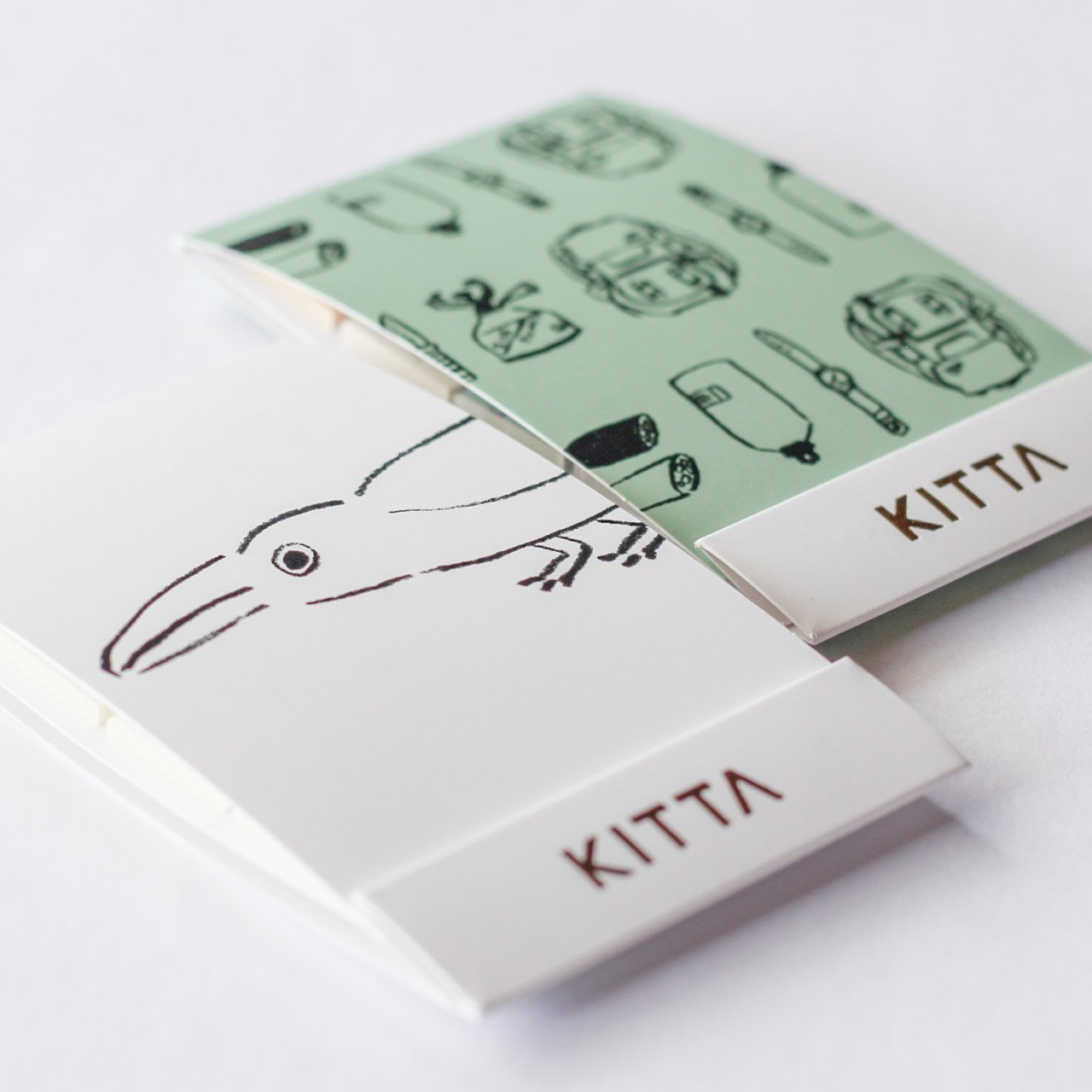 KITTA x yamabatosha Washi Tape Stickers Series