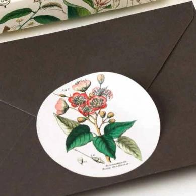 PEPIN Label, Sticker & Tape Books - Flora
