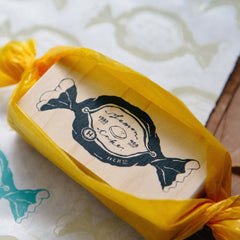 OURS Lemon Cake Rubber Stamp