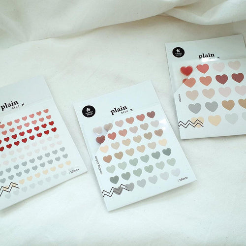 Suatelier Stickers - Geometric Plain XIV (Heart Series)