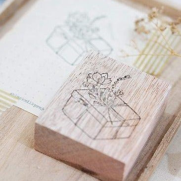 Black Milk Project Rubber Stamp - Love Gift