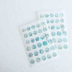 YOHAKU Round Clear Sticker