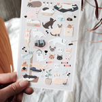 Suatelier Stickers - Meow (Cat)