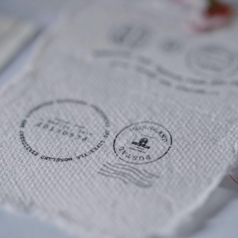 mossland Postmark Clear Stamp