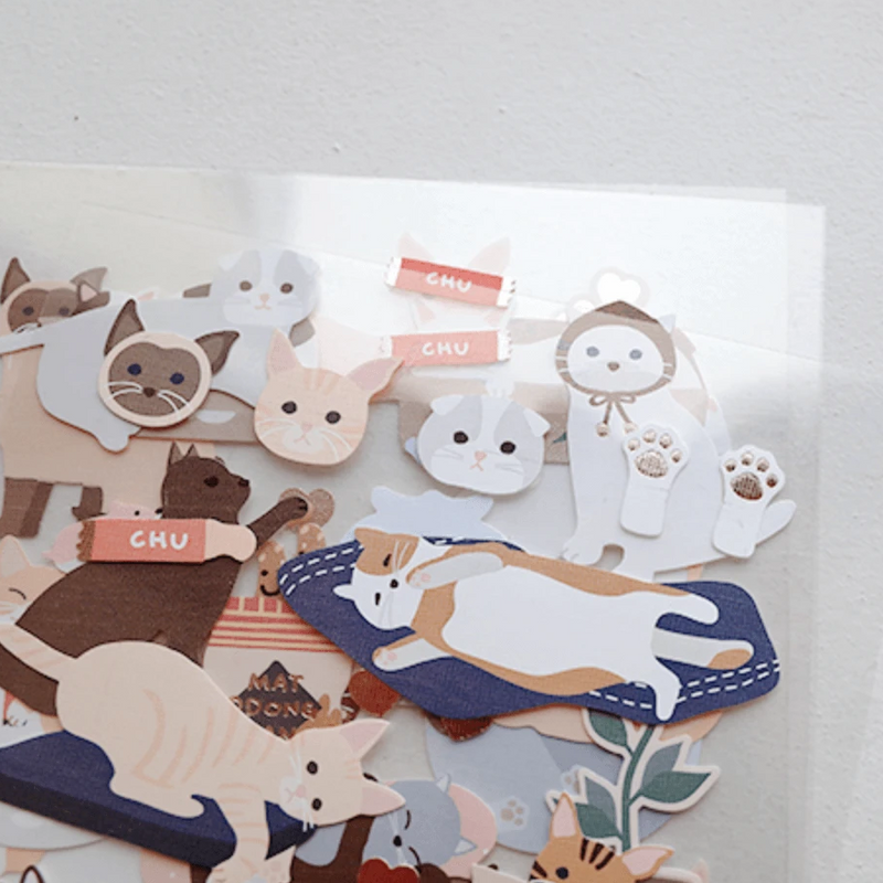 Suatelier Stickers - Nyang Nyang