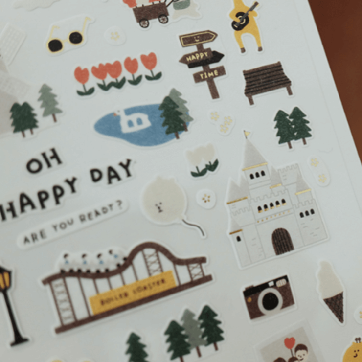 Suatelier Sticker - oh happy day