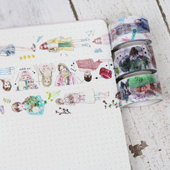 Bon Bon Stickers Washi Tapes II
