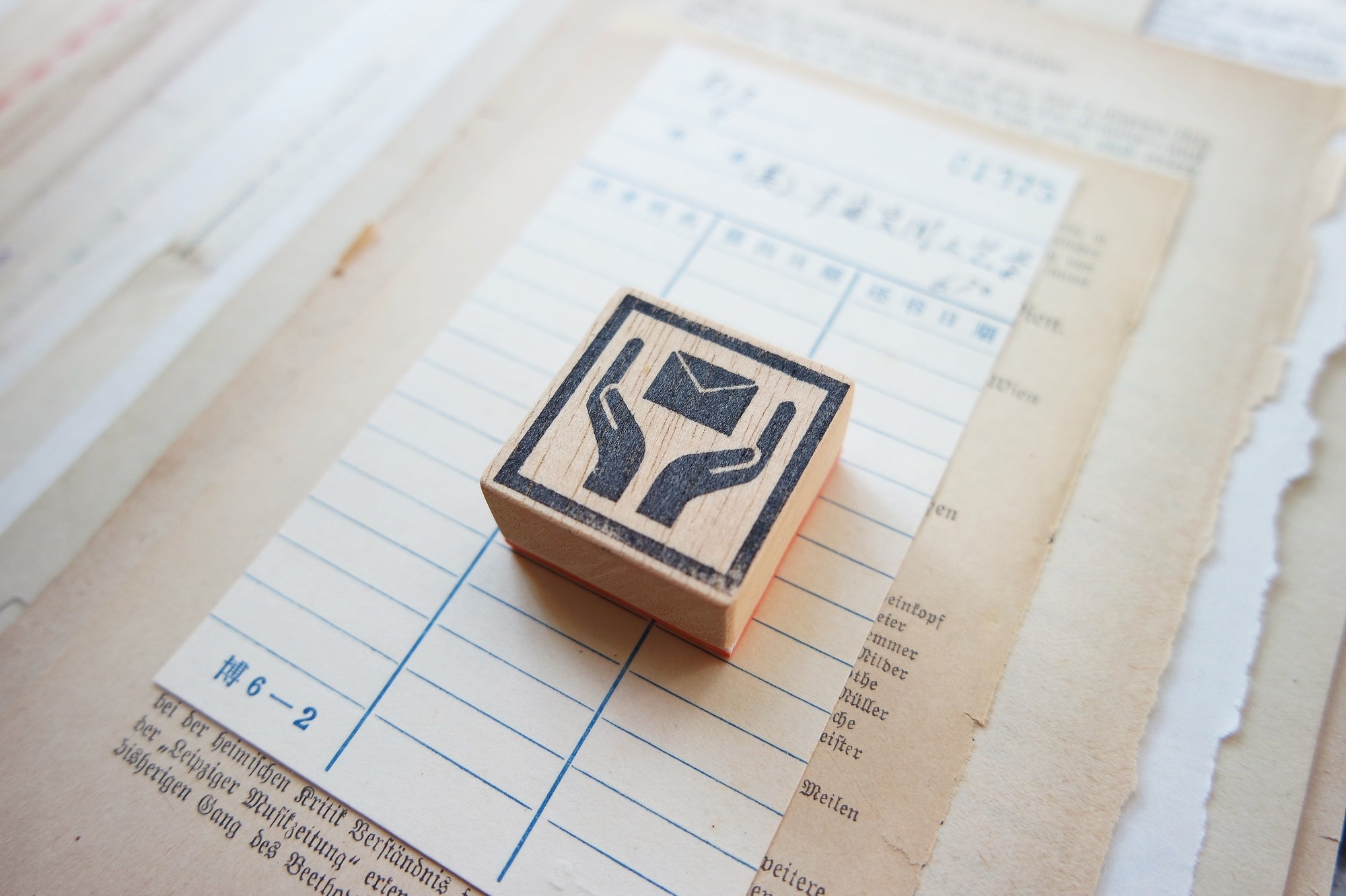 Handle With Care Rubber Stamps Series
