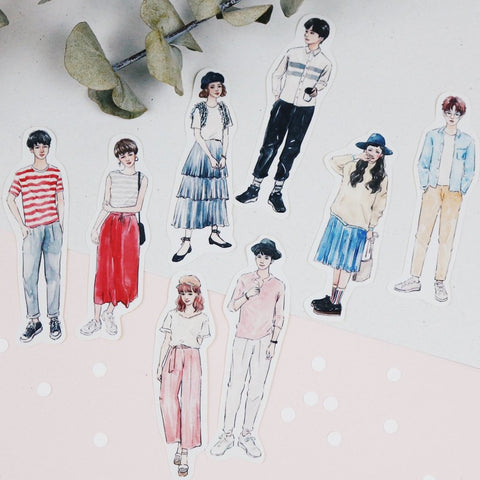 Bon Bon Stickers - Couple Looks II