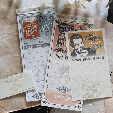 LCN Vintage Notepad (3patterns/30pcs)