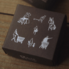 modaizhi One Day Rubber Stamp Set II