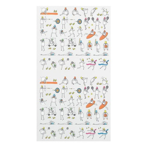 MD Ojisan Schedule Stickers (Sports 2542)
