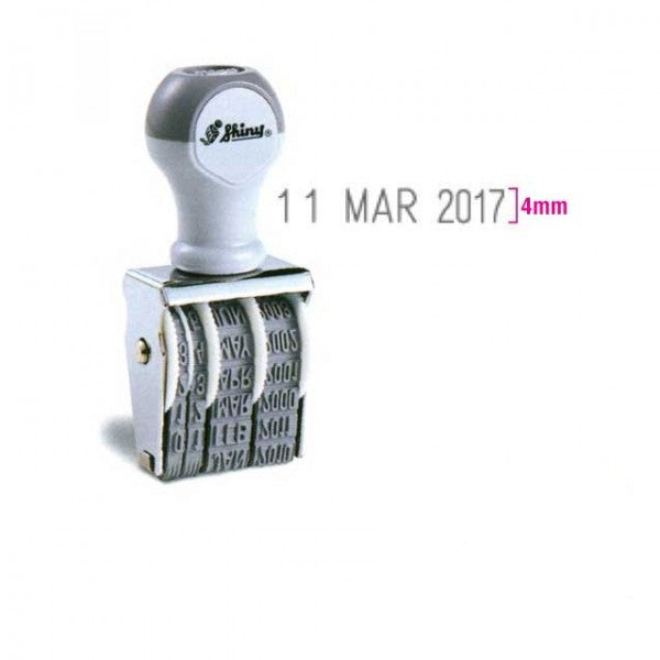 Shiny Date Stamp D-3/D-4/D-5