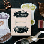 OURS Thread Card Rubber Stamp