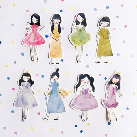 msbulat Sleepwalking girls Sticker Pack
