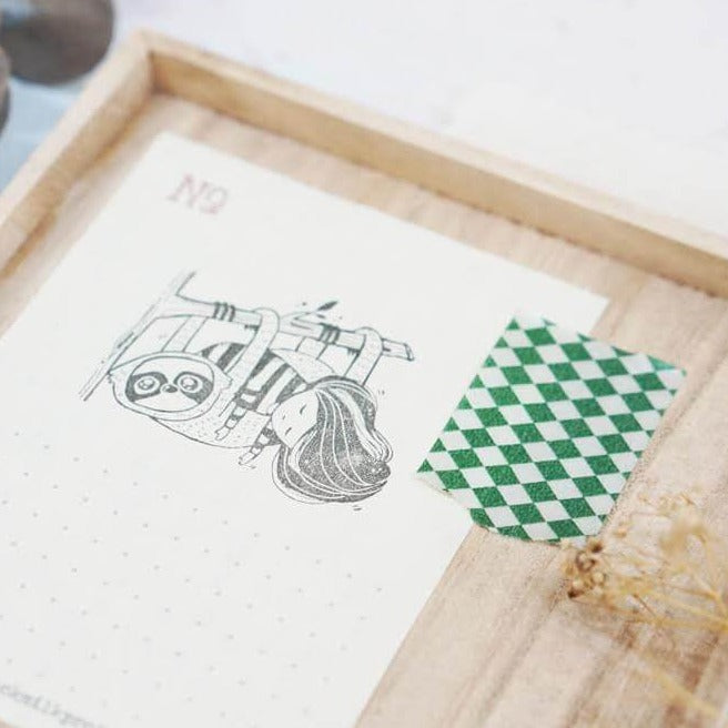 Black Milk Project Rubber Stamp - Sloth