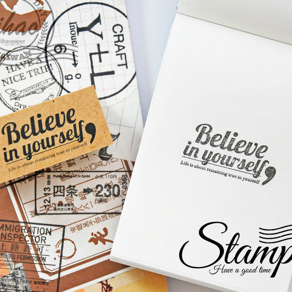 lihaopaper Love Travel Rubber Stamps Series