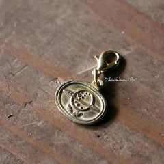 LCN Life Pieces Brass Charm