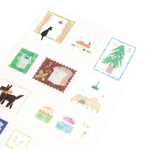 [My Favorite] Washi Sticker - Stamp