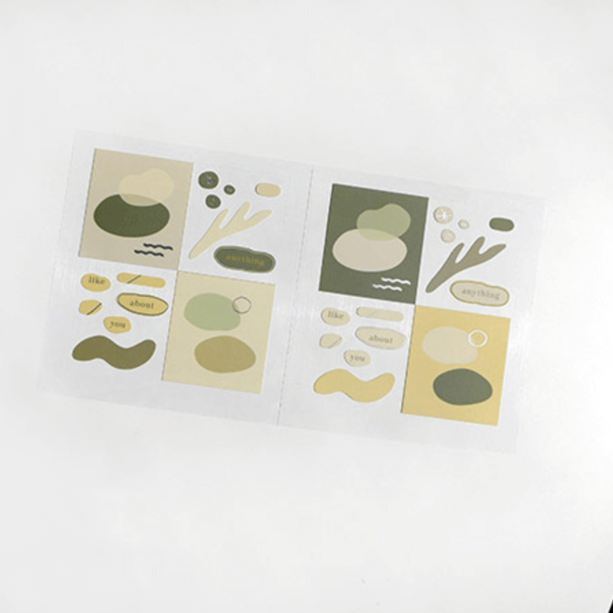 Suatelier Stickers - Geometric Plain XII